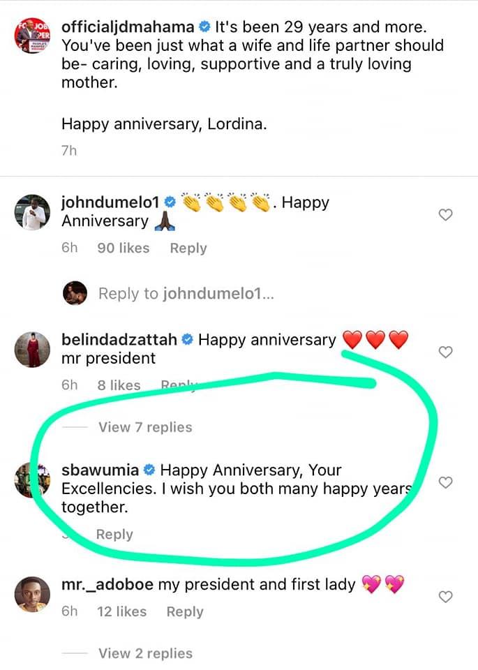 I wish you both many happy years together - Samira Bawumia sends warm message to John and Lordina Mahama