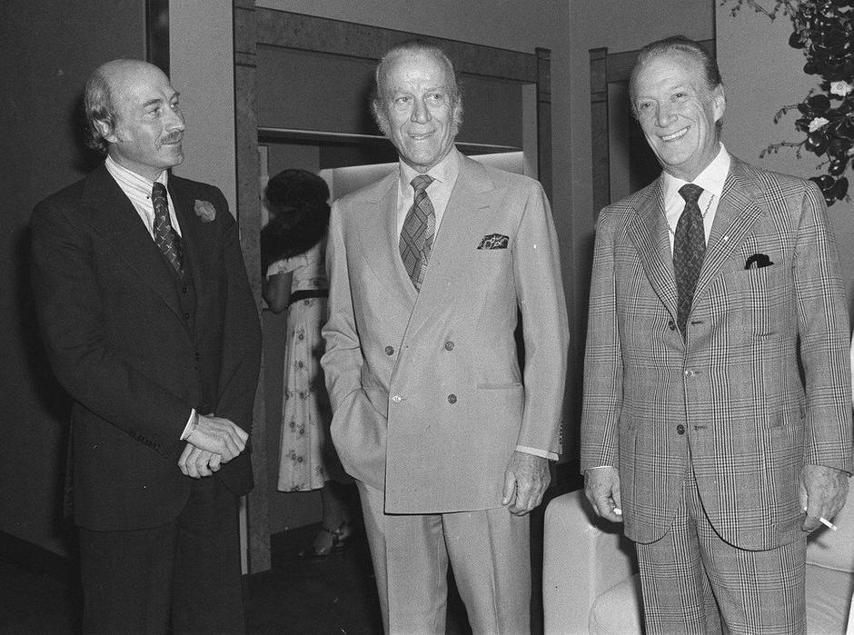 Mężczyźni Gucci: Pablo, Aldo, Rodolfo w 1977 roku / EAST NEWS