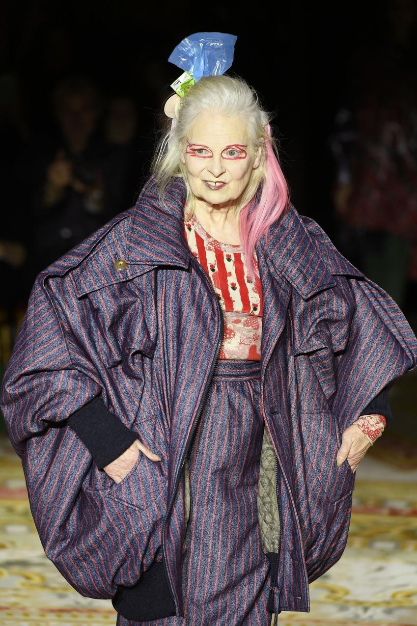 Vivienne Westwood w roli modelki