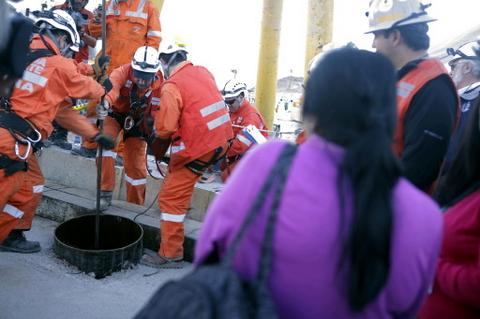 CHILE-MINING-ACCIDENT-RESCUE