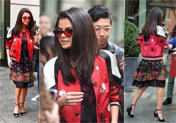 Best Look: Selena Gomez w sukience Coach