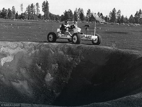 NASAje ispitivala kako će se eksperimentalno vozilo prilagoditi terenu
