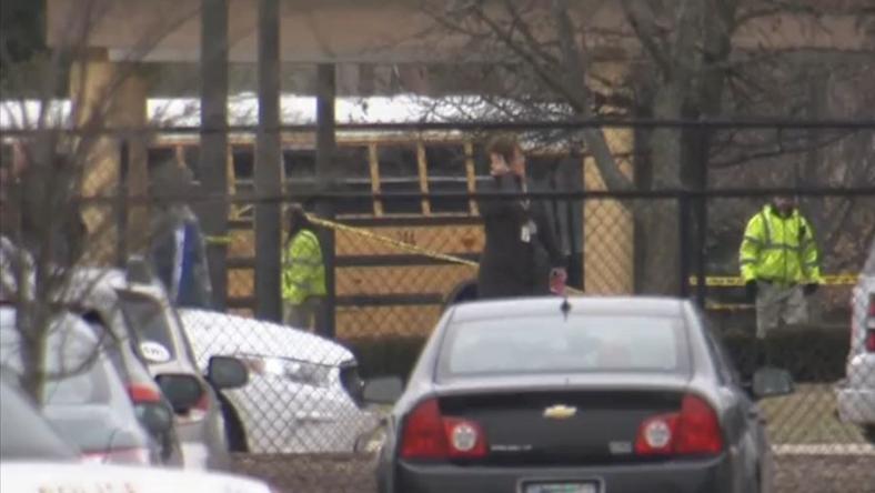 Ellökte diákjait a gyilkos járat elől /Fotó: NBC videó