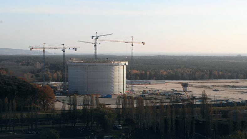 Budowa terminala LNG w Świnoujściu