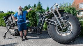 Niemiecki mechanik stworzył najcięższy rower na świecie