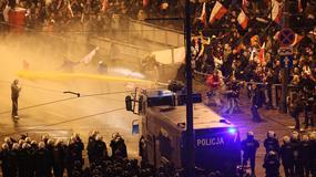 Warszawa: trwa liczenie strat po zajściach w trakcie Marszu Niepodległości