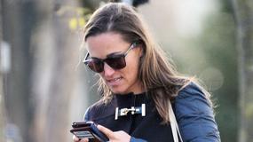 Pippa Middleton na lunchu z trenerem fitness