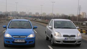 Opel Corsa czy Toyota Yaris? Czyli, cena kontra jakość