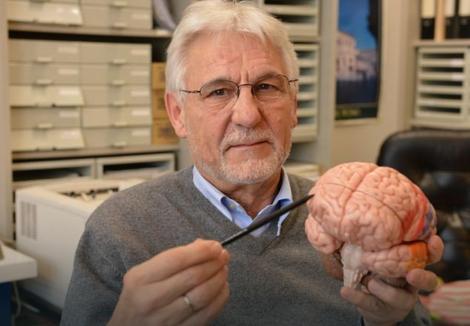 Gerhard Rot pokazuje koji deo mozga utiče na nasilničko ponašanje