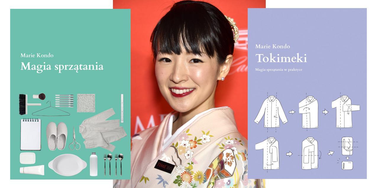 Marie Kondo - Magia sprzątania i Tokimeki. Magia sprzątania w praktyce