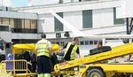 Čovek zaspao na pokretnoj traci za prtljag aerodroma u Rimu