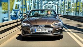 Audi A5 cabrio 2.0 TFSI quattro - perfekcyjnie rozwiewa czuprynę
