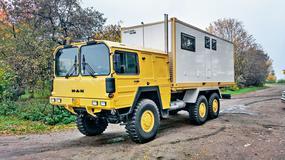 Nowe życie wojskowej ciężarówki