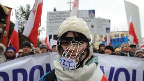 Manifestacja w obronie telewizji Trwam
