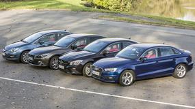 Audi A3 kontra Mazda 3, Mercedes CLA i Opel Astra - Czy sedany dodają prestiżu?