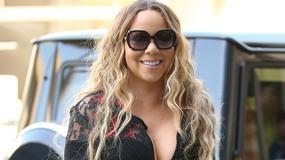 Mariah Carey w sukience z głębokim dekoltem. Wokalistka odsłoniła też nogi. Jak wypadła?