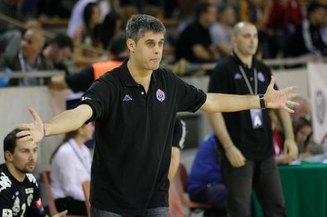 Aleksandar Brković u vreme kada je bio trener Partizana
