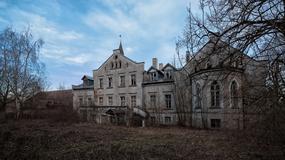 Opuszczony pałac Przeczów koło Namysłowa