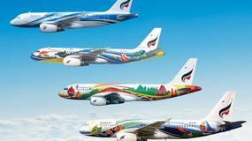 Najładniejsze kolorowe samoloty na świecie