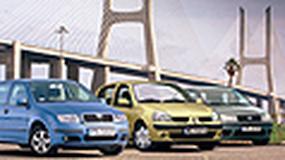 Renault Clio II, Skoda Fabia, Fiat Punto II - Samochody spod lady