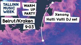 Tallin Music Week Warm Up Party w Warszawie