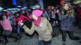 """Taneczny protest przeciwko przemocy wobec kobiet """"Nazywam się Miliard"""""""