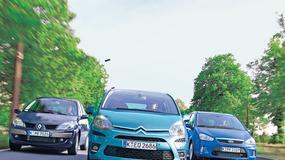 Citroen C4 Picasso kontra Ford C-Max i Renault Scenic: czy używane vany nie zawiodą rodziny