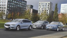 Opel Insignia Sports Tourer kontra Renault Talisman Grandtour i Volkswagen Passat Variant - wygodne wycieczkowce