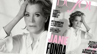 Jane Fonda na okładce DuJour Magazine