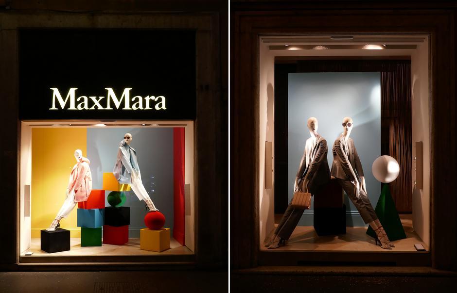 Max Mara przy Via dei Condotti w Rzymie