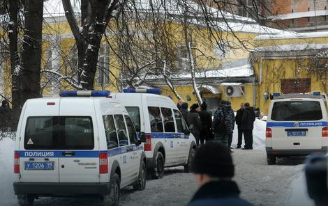"""Policijski uviđaj ispred restorana """"Karetni dvor"""" posle ubistva Usojana"""