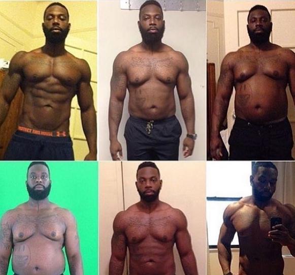 Trener celowo przytył 32 kilogramy