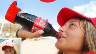 Cola stworzyła butelkę robiącą selfie