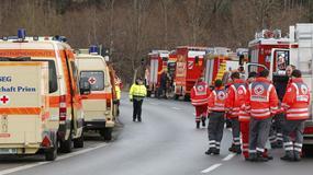 Niemcy: katastrofa kolejowa w Bawarii