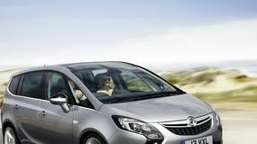 Rodzinny Opel Zafira rośnie i rośnie...