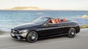 Mercedes klasy C cabrio i coupe na salonie w Nowym Jorku