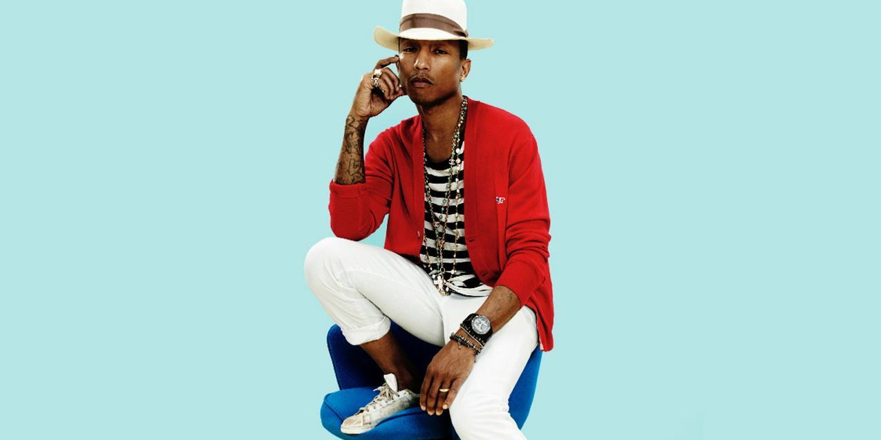 Pharrell Williams w sesji dla GQ