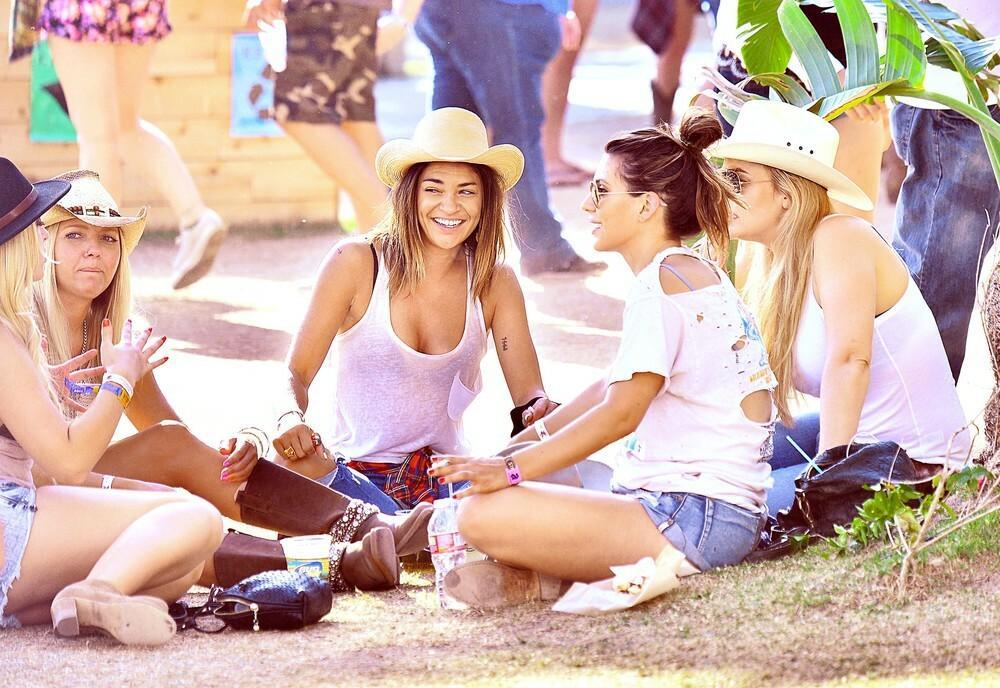 Piknik na festiwalu Coachella