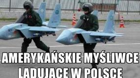 Internauci komentują lądowanie amerykańskich F-16 w Polsce