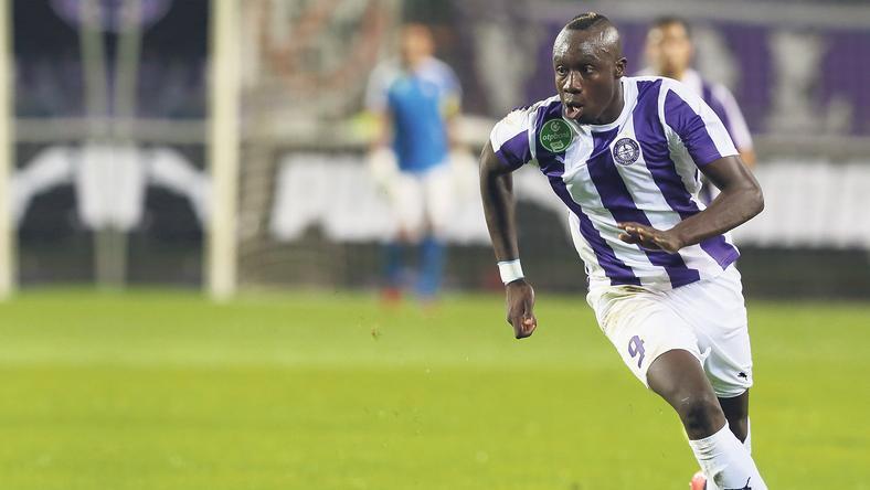 Mbaye Diagne remekelt ősszel, a magyar élvonalban 14 mérkőzésen 11 gólt szerzett / Fotó: RAS-Archiv
