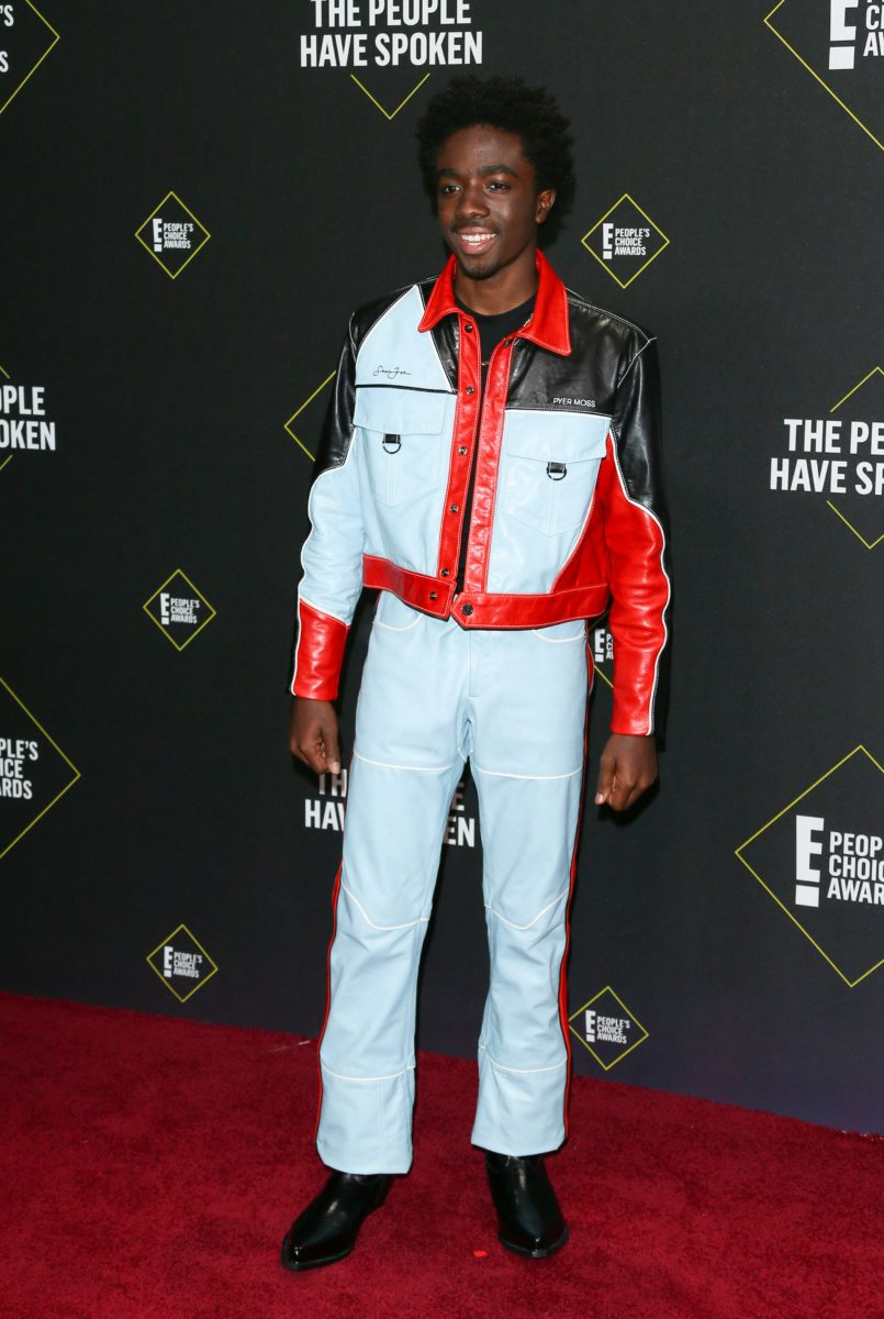 Caleb McLaughlin from 'Stranger Things' at 2019 People's Choice Awards [Essence]