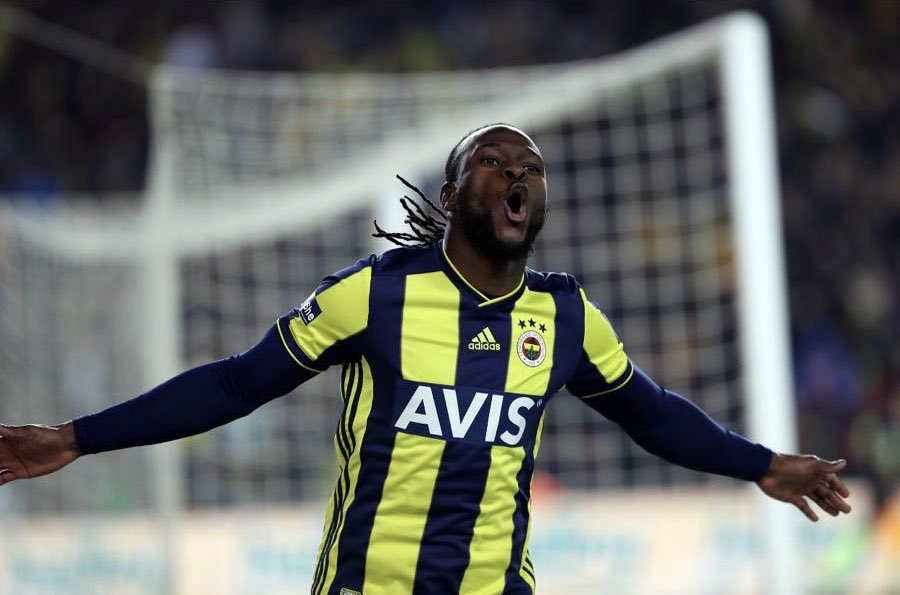 Victor Moses also says he's excited with his new adventure in Turkey.  [Fenerbahce]