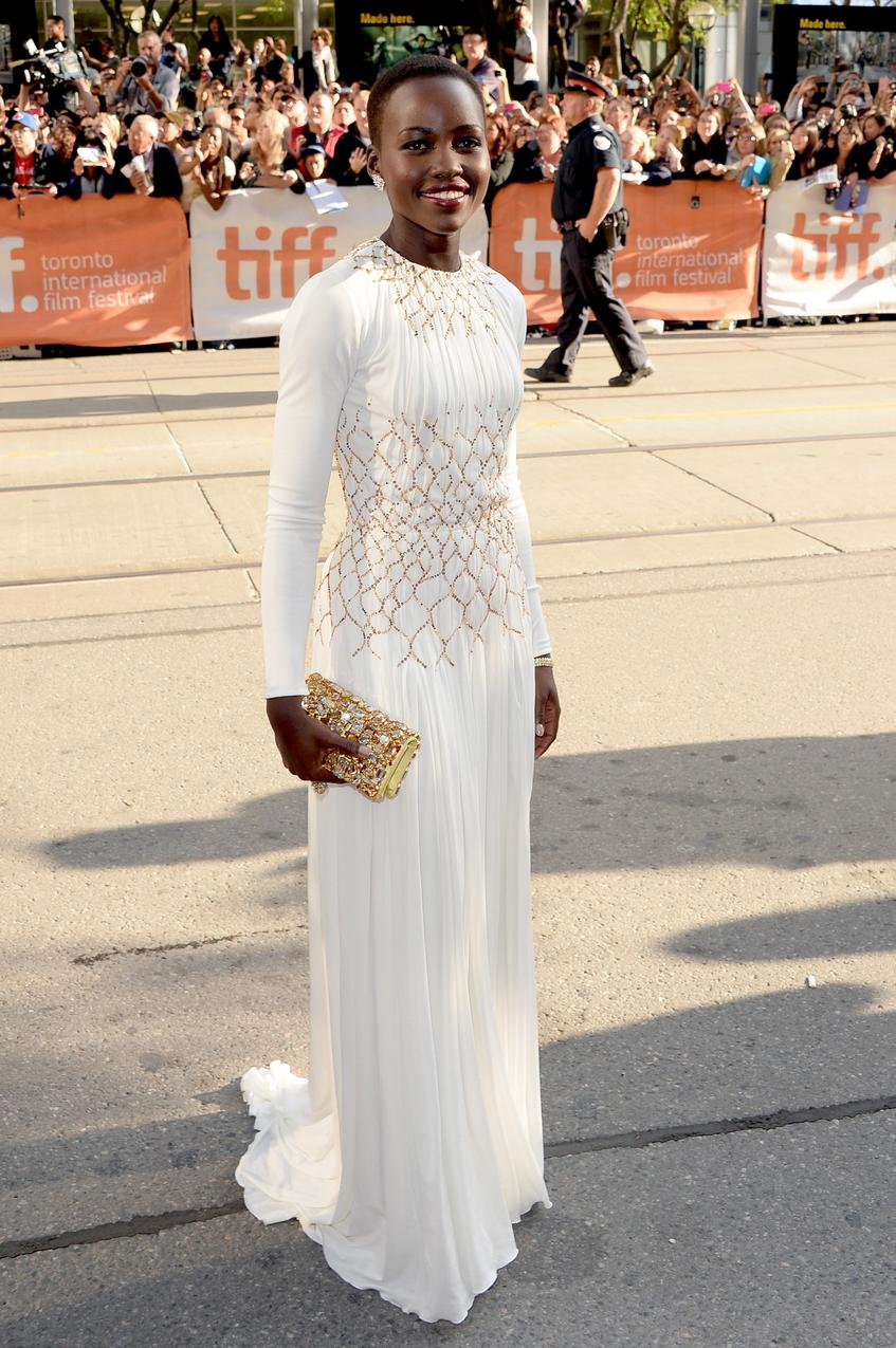 Lupita Nyong'o na premierze w Toronto / Getty Images
