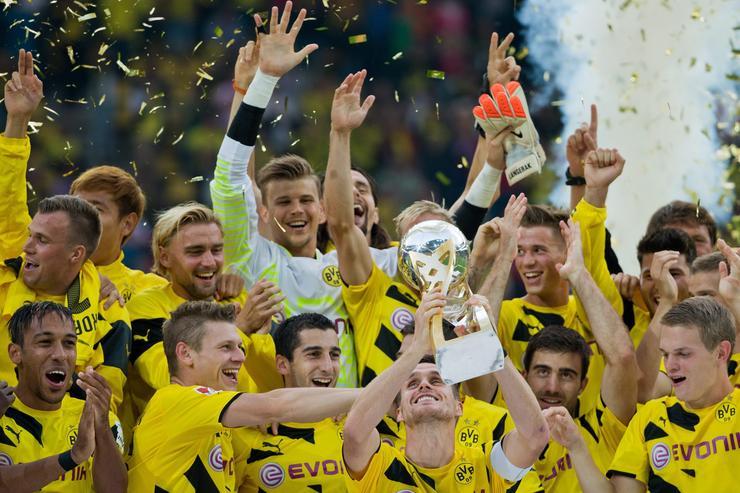 GERMANY SOCCER GERMAN SUPERCUP (Borussia Dortmund vs FC Bayern Munich)