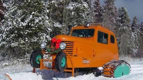 Niesamowite pojazdy śnieżne na przestrzeni lat