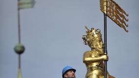 Figura króla wróciła na ratusz