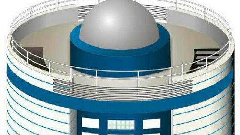 Wizualizacja astro-bazy, która ma być wybudowana przy 14 szkołach w województwie, Rep. Wojciech Kardas / Agencja Gazeta