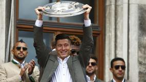 Robert Lewandowski świętuje mistrzostwo Niemiec i tytuł króla strzelców
