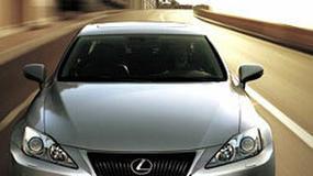Paryż 2008: Lexus IS - kosmetyczne zmiany