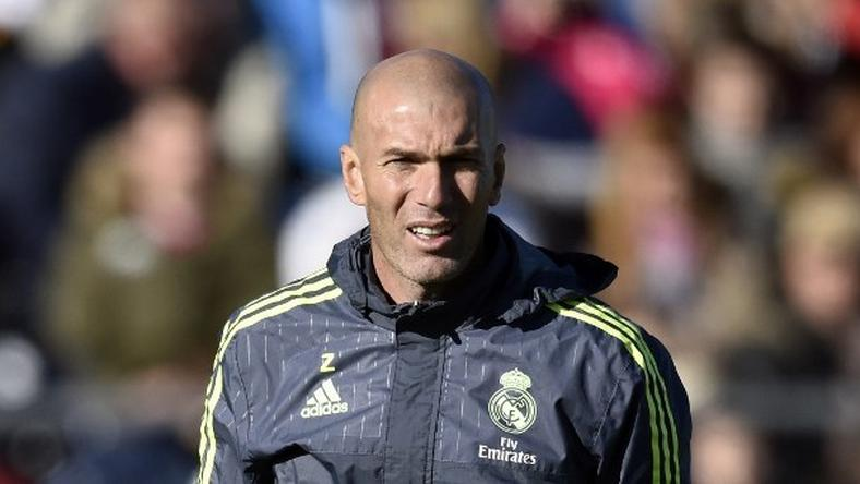 Zidane a Real új edzője /Fotó: AFP